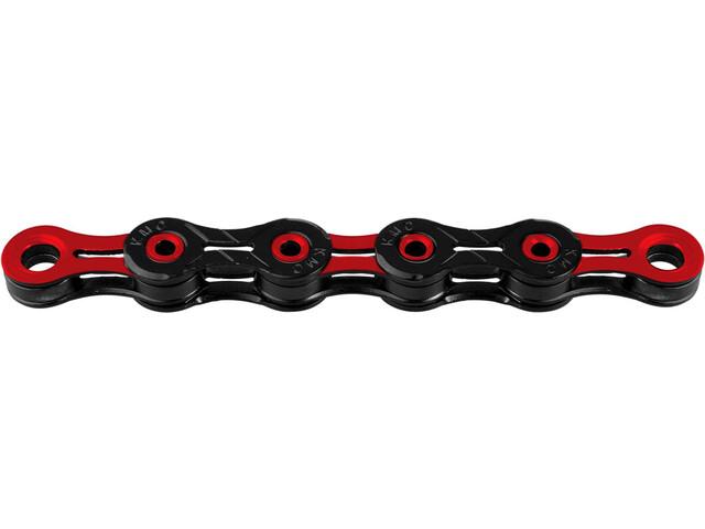 KMC X-11 SL DLC Kedja 10-växlad röd/svart
